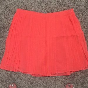 Millau neon pink skirt size small